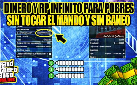 "*INPRESIONANTE* - GANAR $ DINERO y RP FACIL y LEGAL - GTA 5 ONLINE - CAPTURAS ""AFK"" - (MONEY GLITCH)"