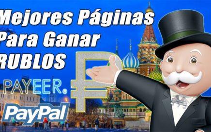 Mejores Páginas para GANAR RUBLOS por Internet (Payeer, Paypal) | Gokustian
