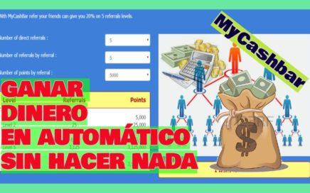 MyCashbar: Ganar Dinero Ejecutando un programa | ¿Cómo funciona?  ¿Cuánto se puede ganar? |