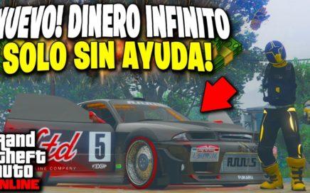 NUEVO! GTA 5 SOLO SIN AYUDA DINERO INFINITO DUPLICAR AUTOS *MATRICULA LIMPIA* GTA V 1.44 BESTIAL!