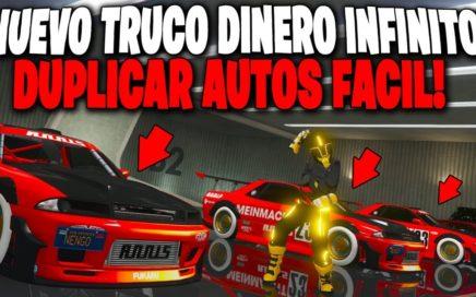 NUEVO TRUCO DINERO INFINITO - GTA 5 ONLINE 1.44 - DUPLICAR AUTOS MUY FACIL!