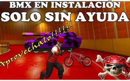 NUEVO TRUCO GTA 5 ONLINE METER BMX EN INSTALACIONES SOLO SIN AYUDA