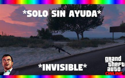 *NUEVO TRUCO* SOLO SIN AYUDA SER INVISIBLE |GTA V ONLINE 1.43 (PS4/XBOX)