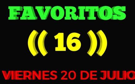 NÚMEROS FAVORITOS PARA HOY VIERNES 20/07/2018 BINGO AYER COM EL (04) FELICIDADES