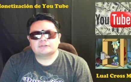 Porque los Youtubers necesitan ganar dinero por sus videos