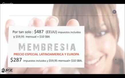 Presentacion Oportunidad de viajar y Ganar dinero con Surge365