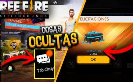 REGALAN DIAMANTES ! COSAS OCULTAS DE OTRAS REGIONES DE FREE FIRE
