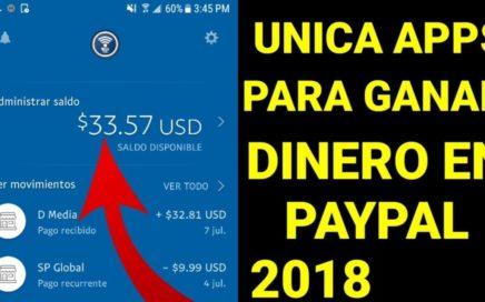 Revelan unica apps para ganar dinero en paypal 2018
