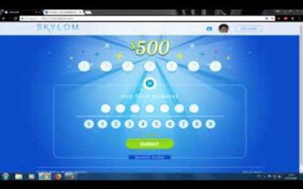 Skylom, Gana dinero online   Earn money online 2017 New lottery