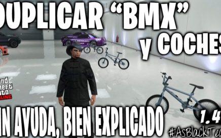 """SOLO - SIN AYUDA - DUPLICAR """"BMX"""" y COCHES - GTA 5 - BIEN EXPLICADO - PLACA INVISIBLE - (PS4 - XB1)"""