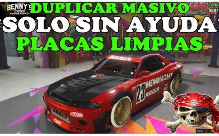 TRUCO GTA 5 ONLINE DUPLICAR MASIVAMENTE *SOLO* CON PLACAS *LIMPIAS* PARA PS4  XBOX Y PC