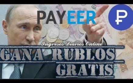 2 Paginas RUSAS para ganar RUBLOS GRATIS - Agosto 2018
