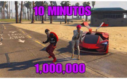 2018 Maneras de Ganar Dinero Facil y Rápido 1,000,000 en 10 minutos GTA V