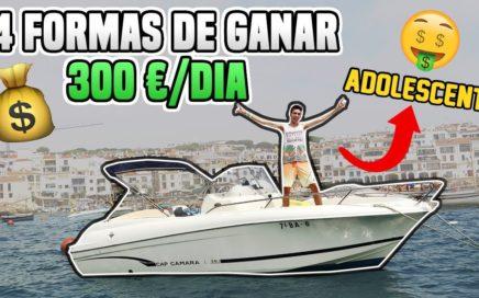 4 Simples Formas de GANAR 300€/DÍA Siendo Adolescente en 2018