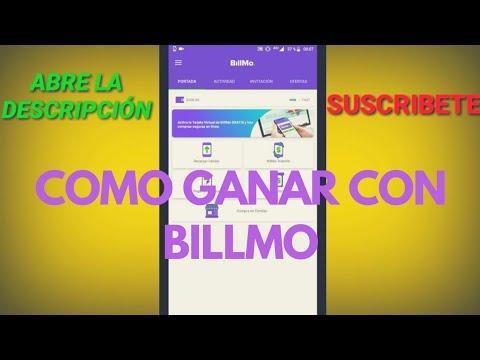 Aplicacion De Billmo   Gana Dinero Con Billmo y Sus Promociones