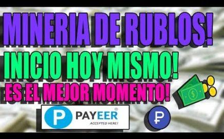 BOSSENTA! MINERIA DE RUBLOS! INICIO HOY! GANAR RUBLOS RAPIDO!