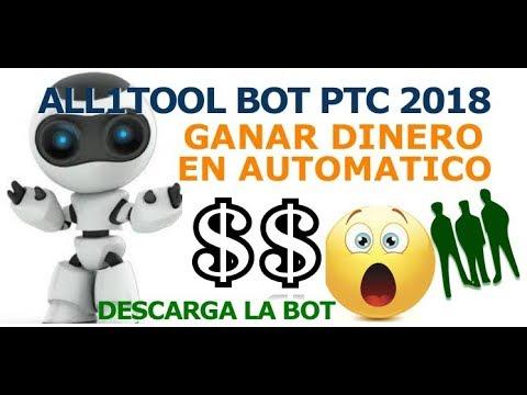 BOT PTC All1Toll Ganar dinero rapido en Automatico 2018