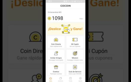 COCOIN - Gana Dinero Desbloqueando la Pantalla de tu celular