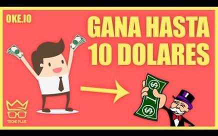 COMO GANAR 10 DOLARES DIARIOS PARA PAYPAL CON OKE.IO | AGOSTO 2018