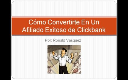 Como Ganar Dinero Con Clickbank - RonaldVasquez.com