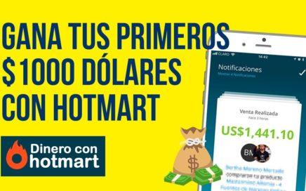 COMO GANAR DINERO CON HOTMART Este 2018 | Gana Dinero con el Programa Dinero con Hotmart