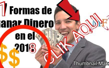 COMO GANAR DINERO DESDE TU CASA FACIL 2018