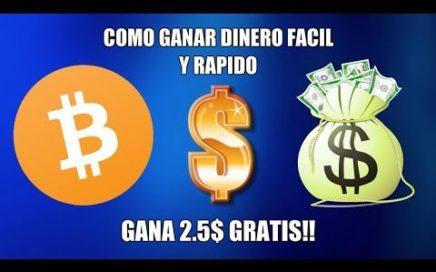 ¿COMO GANAR DINERO FÁCIL Y RÁPIDO? GANA 3$ POR REGISTRARTE / NUEVA AIRDROP / GANA BITCOIN GRATIS