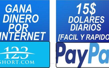 Como Ganar Dinero Por Internet 15$ Dolares Diarios [2018]
