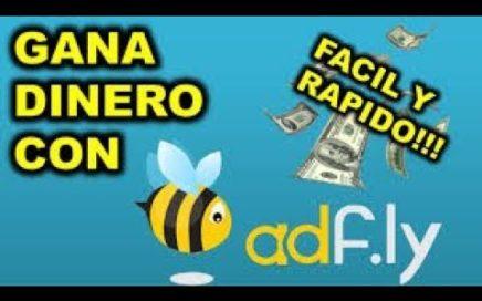 COMO GANAR DINERO POR INTERNET FACIL , RAPIDO Y VERDADERO CON ADF.LY 2018 (-$5-)