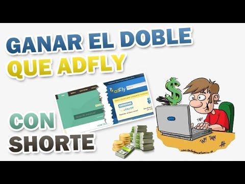 Como ganar el doble que Adfly con Shorte - COMO GANAR DINERO EN INTERNET