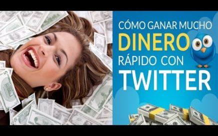 Como Ganar Mucho Dinero Rapido Con Twitter | Impulsa tu Trabajo Desde Casa Por Internet