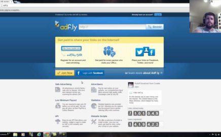 como registrarse en adfly / ganar dinero con tus links ganar por internet adf.ly register