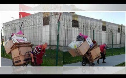 Conmoción provoca mujer de 81 años que recoge cartones para ganar dinero NOTICIAS 24H