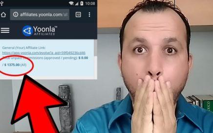 CUANTO GANE EN ESTE MES CON YOONLA   Como Ganar Dinero Online 2018