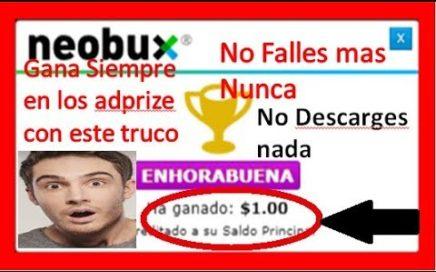 (Curso) Tutorial TRUCO PARA GANAR DINERO EN ADPRIZE  Y AUMENTAR TUS GANANCIAS  $$
