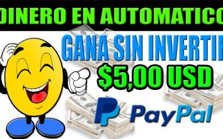 Dinero En Automático por Internet a PAYPAL SIN INVERTIR | YTVerts