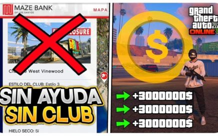 DINERO INFINITO *SOLO* SIN SER BANEADO! Y SIN CLUB! +999,999$ EN 8 MIN (SIN CLUB NOCTURNO) 1.45