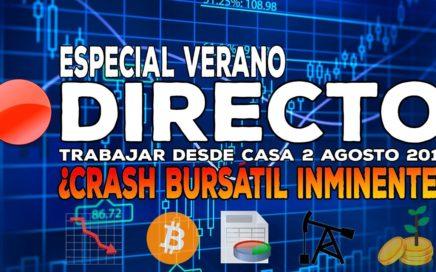 Directo: ¿Está comenzando una nueva crisis? - Bitcoin,Facebook, Twitter, Netflix, Apple...