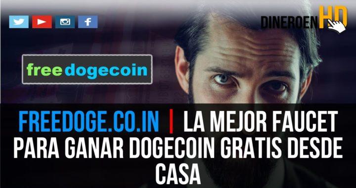 FREEDOGE.CO.IN | COMO PUEDO GANAR DOGECOIN GRATIS Y FÁCIL DESDE CASA  SIN HACER NADA
