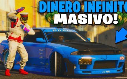 FUNCIONA! MEJOR METODO DINERO INFINITO *MASIVO*! | GTA 5  ONLINE 1.44 +60.000.000 EN UNA HORA!!
