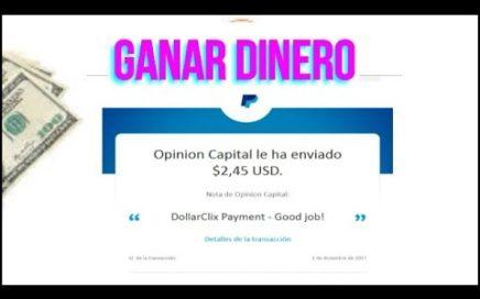 GANA DINERO CON DOLLARCLIX  COMPROBANTEDE PAGO