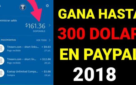GANA DINERO PARA PAYPAL CON ESTA APPS 2018