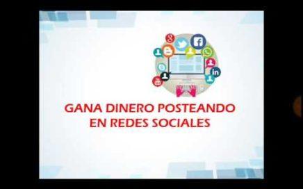 Gana Dinero Posteando en Facebook