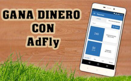 GANAR DINERO DESDE TU CELULAR ACORTANDO LINKS - AdFly