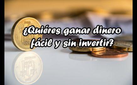 Ganar dinero fácil y sin invertir - Victor Palomino