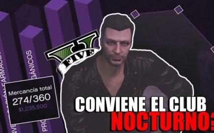 GTA ONLINE - CONVIENE COMPRAR EL CLUB NOCTURNO PARA GANAR DINERO?