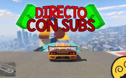 GTA V Directo Jugando con Subs , Consiguiendo dinero en GTA V Online | Llegando a 650 subs |