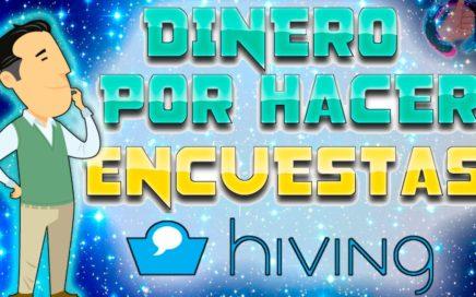 Hiving, GANA DINERO HACIENDO ENCUESTAS | DINERO PARA PAYPAL