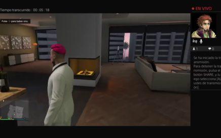 Intentando ganar dinero GTA online
