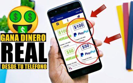 La Nueva Aplicación Con La Que Puedes Ganar 50$ 100$ y 500$ en Paypal 2018!